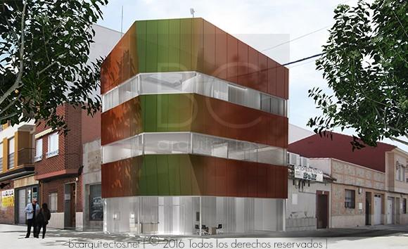 bcarquitectos. Imagen desarrollo de Proyecto de Ejecución.