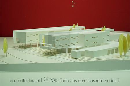 BC Arquitectos.Maqueta Colegio