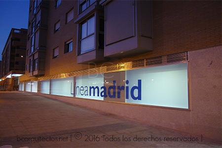 Oficina l nea madrid sanchinarro bc arquitectos for Oficinas linea madrid