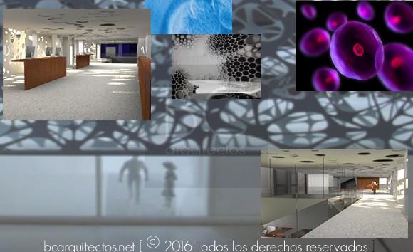 bcarquitectos. interiores recepción e ideas de proyecto
