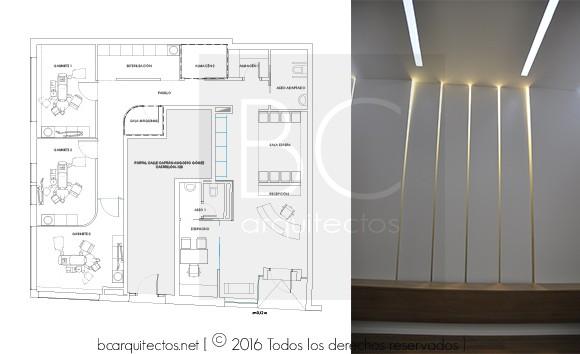 www.bcarquitectos.net.Clínica aranjuez